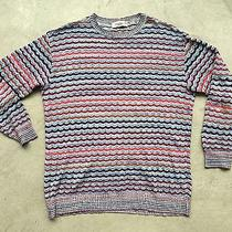 Missoni Uomo Sport Men's Knitted Jumper Sz Large Vintage Sweater Photo