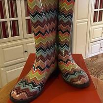 Missoni Venetian Rain Boots - New in Box 8m Photo