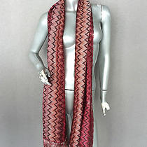 Missoni Viscose Scarf Made in Italy Photo