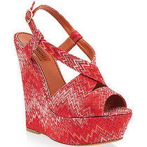Missoni Wedge  Leather Red  Platforms Wedges Size 40 /  Us 9.5 Red Photo