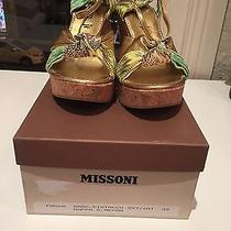Missoni Wedges Size 39 Never Worn in Box Photo