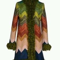 Missoni  Women's Multicolor Coat Size 40 Style 188522 Made in Italy  Photo