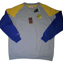 Mitchell & Ness Golden State Warriors Coach Crew Neck Sweatshirt 3xl Big & Tall Photo