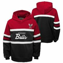 Mitchell & Ness Nba Youth Boys (8-20) Chicago Bulls Head Coach Hoodie Photo
