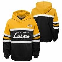 Mitchell & Ness Nba Youth Boys (8-20) Los Angeles Lakers Head Coach Hoodie Photo