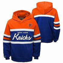 Mitchell & Ness Nba Youth Boys (8-20) New York Knicks Head Coach Hoodie Photo