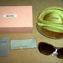 Miu Miu by Prada Sunglasses Nwt  Photo