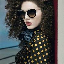 Miu Miu Designer Smu51p Tortoise Cat Eye Sunglasses Photo