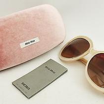 Miu Miu Glitter Sunglasses With Box - Great Gift Photo
