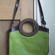 Miu Miu Green Leather & Wood Bag Photo