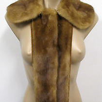Miu Miu Light Honey Mink Collar/scarf - Excellent Photo