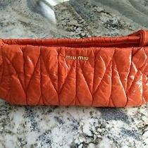 Miu Miu Patent Leather Clutch Photo