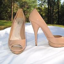 Miu Miu Prada Peep Toe Pump Stiletto Shoe Size 8 Blush Pink Photo