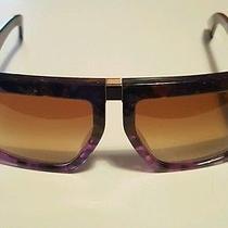 Miu Miu Smu O50 Mao-1go Havana Purple/violet Frame/brown Gradient Lenses Photo