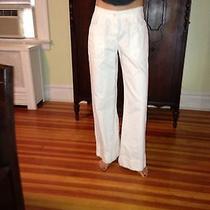 Miu Miu White Off White Pants Size 6/ 42  Photo