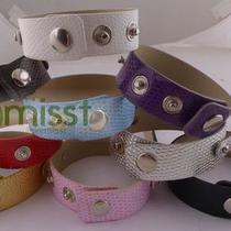 Mix Colour Imitation Leather Belt Bracelet Buckle Wristband Quantity Optional Photo