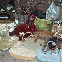 Mixed Brand Name Designer Handbag Lot20 Dana Buchmanfossilcoachetc Photo