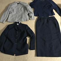 Mixed Lot Ladies Clothes Skirt & Blazers Sz 14 Liz Claiborne  Photo