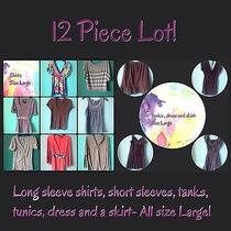 Mixed Lot of Clothing Size Large Photo