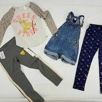 Mixed Lot of Girls Pants Top and Jumpsuit Sz Xs Photo