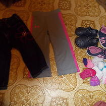Mixed Lot of Little Girls Clothing  and Shoes Baby Gap Jeans Size 18-24 Months Photo