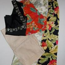 Mixed Lot of Talbots Ralph Lauren Bebe Ann Taylor Skirts Blouse Shorts Size 6-8 Photo
