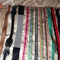 Mixed Lot of Womens Belts Old Navy Vintage Aldo Forever 21  Photo