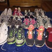 Mixed Lot of Womens Sneakers Size 10 Photo