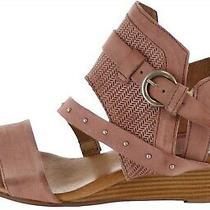 Miz Mooz Leather Buckle Sandals Farley Blush Eu 39(us 8.5-9)m New A350232 Photo