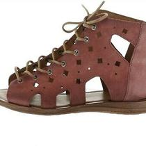 Miz Mooz Perforated Leather Sandals Florence Blush Eu 39(us 8.5-9) New A351247 Photo