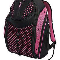 Mobile Edge - Express Women's Laptop Backpack - Pink/black Photo