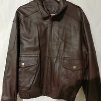Moda Valentino Leather Jacket Brown Sheepskin Men's Outer R1524 Photo