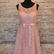 Modcloth Simply Divine Dress in Blush Nwt Sz 10 a-Line Sash Retro 150  Gorgeous Photo