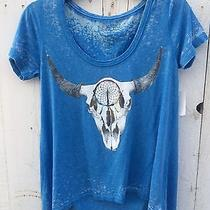 Modern Dreamer Blue Bull Girly Hipster Trendy Photo