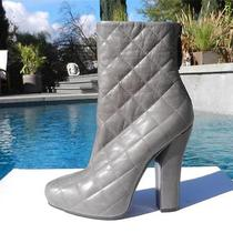 Modern-Edgeedmundo Castillo for Narciso Rodriguez Quilted Platform Boots 40 Photo
