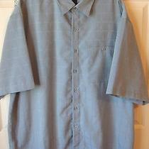 Modern Elements Men's Sueded Microfiber Casual Shirt  Size Xxl Euc Photo