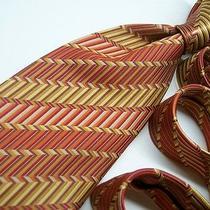 Modern Elements Multicolored Silk Tie  7-29-a Jp Photo