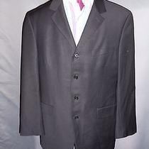 Modern Givenchy Black Sports Coat Blazer Suit Jacket 44us/54eu Photo