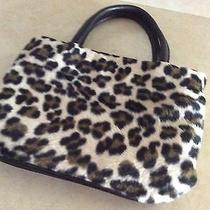 Modern Me Elements Leopard Faux Fur Purse Photo