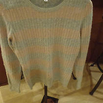 Mohair Look Lamb & Rabbit Hair Sweater Aphorism Designer Strips Photo