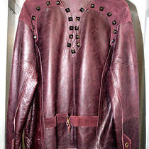 Monarchy Fancy Leather Unisex Jacket Brand New Photo