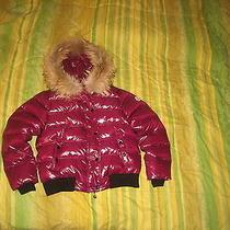 Moncler Alpine Womens Down Jacket Size 4 Fits M Raccoon Fur Trimmed 100% Authen Photo
