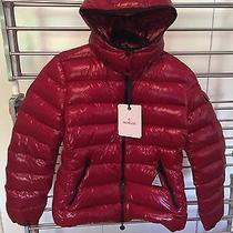 Moncler Bady Lacquer Hooded Short Down Coat Photo