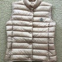 Moncler Blush Liane Down Vest Size 1 Photo