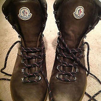 Moncler Boots. Like New. Hard to Find. Retail Price Is 550 Photo