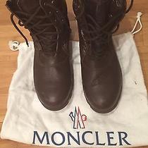Moncler Brown Snow Boots Men Size 9 Photo
