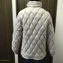 Moncler Brown Tag Down Jacket Light Beige Authentic Dhl Fedex F/s Photo