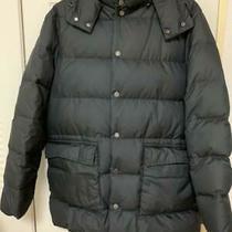 Moncler Brown Tag Down Jacket Men Black Size L Dhl Fedex F/s Photo