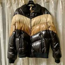 Moncler Brown Tag Sine Switching Down Jacket Black X Brown Dhl Fedex F/s Photo