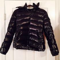 Moncler Classic Bady Black Lacquer Size 4 Equals Medium Large W/ Detachable Hood Photo